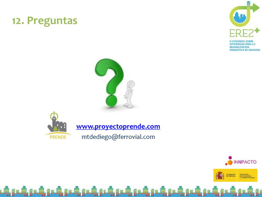 12. Preguntas www.proyectoprende.com mtdediego@...