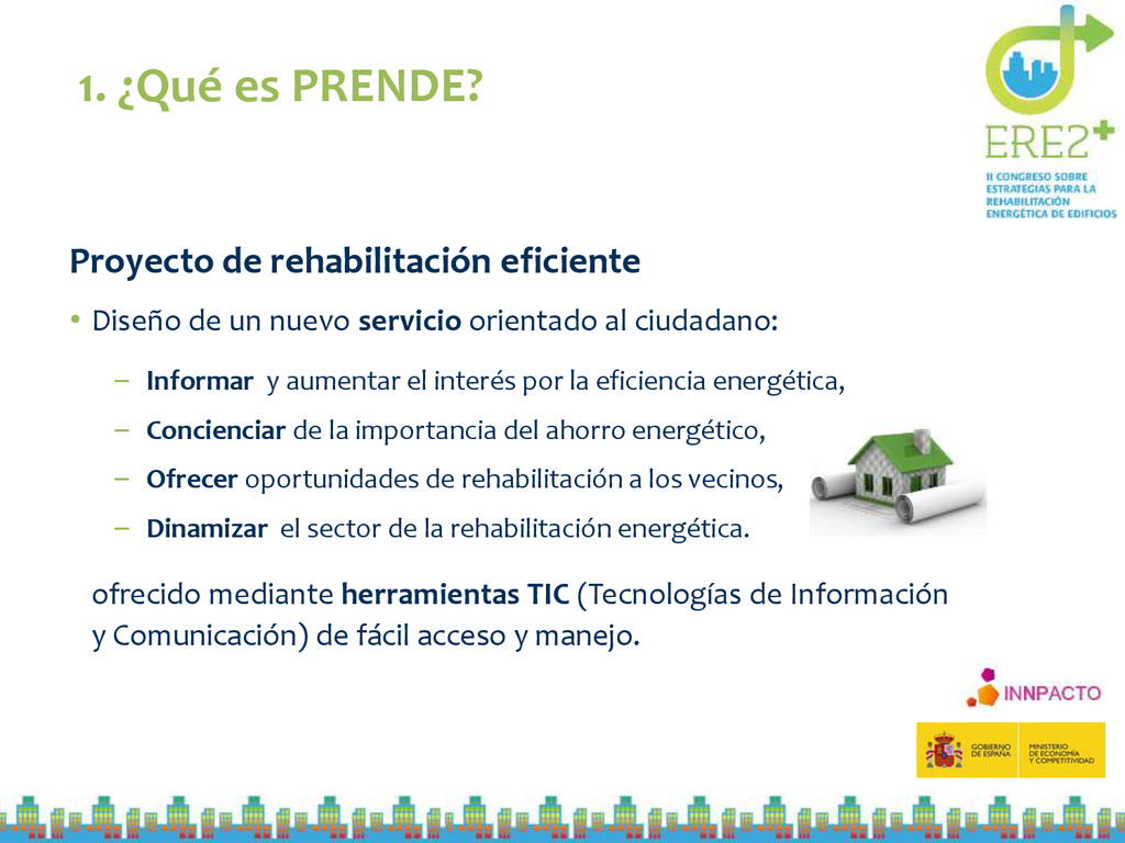 Proyecto de rehabilitación eficiente • Diseño d...