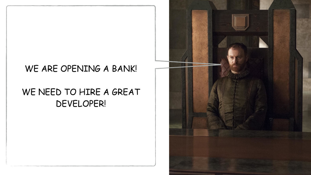 WE ARE OPENING A BANK! WE NEED TO HIRE A GREAT ...