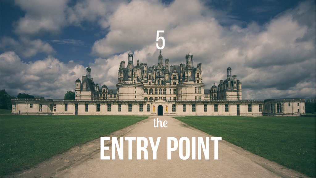 the ENTRY POINT 5