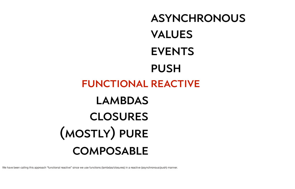 function functional lambdas closures (mostly) p...