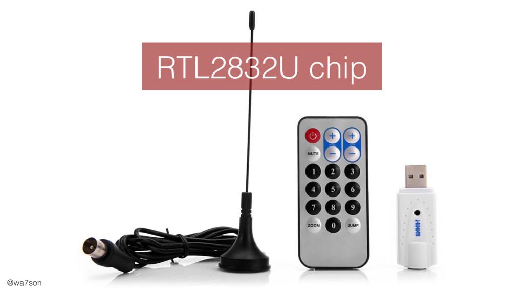 @wa7son RTL2832U chip