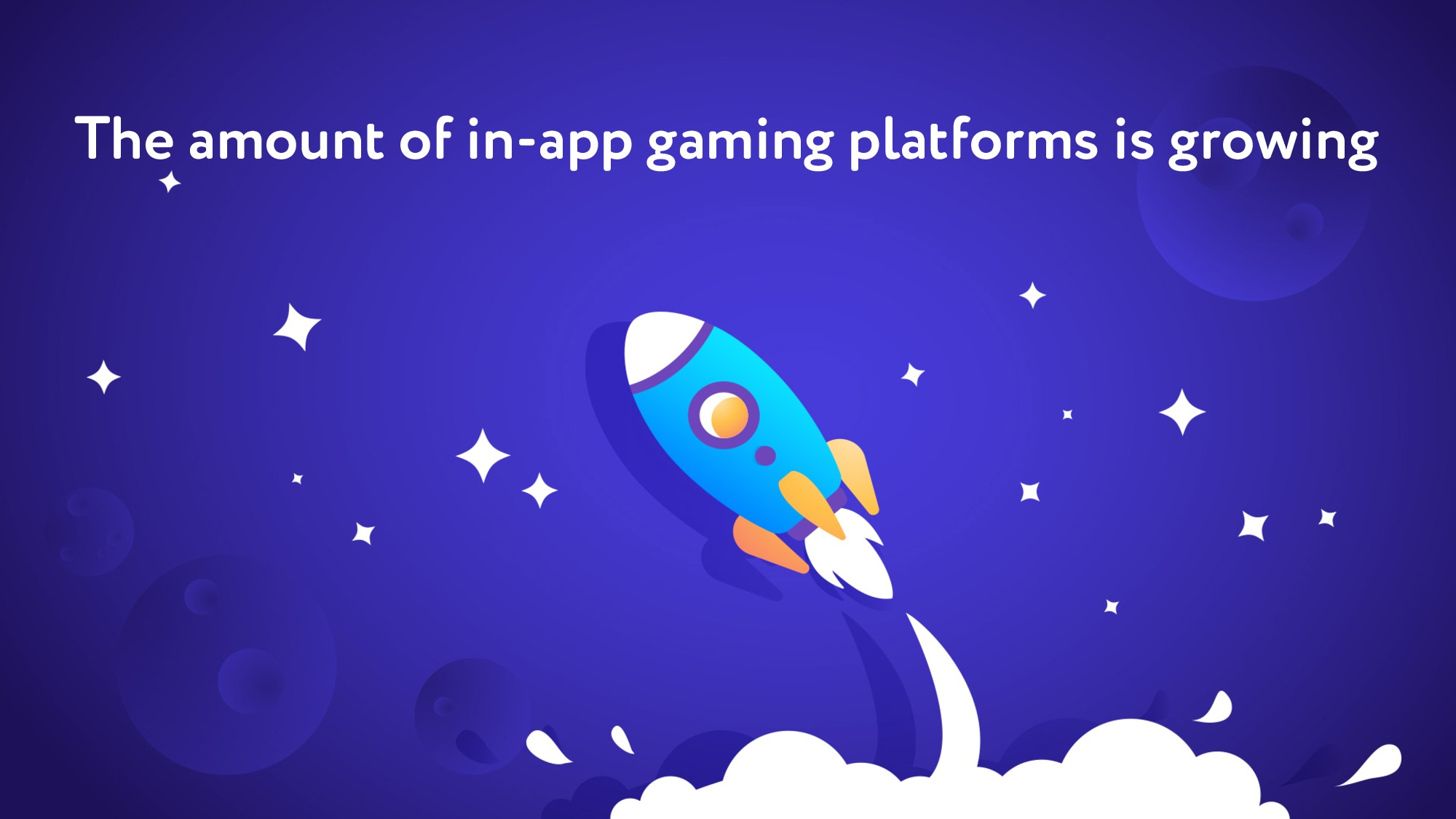 The amount of in-app gaming platforms is growing