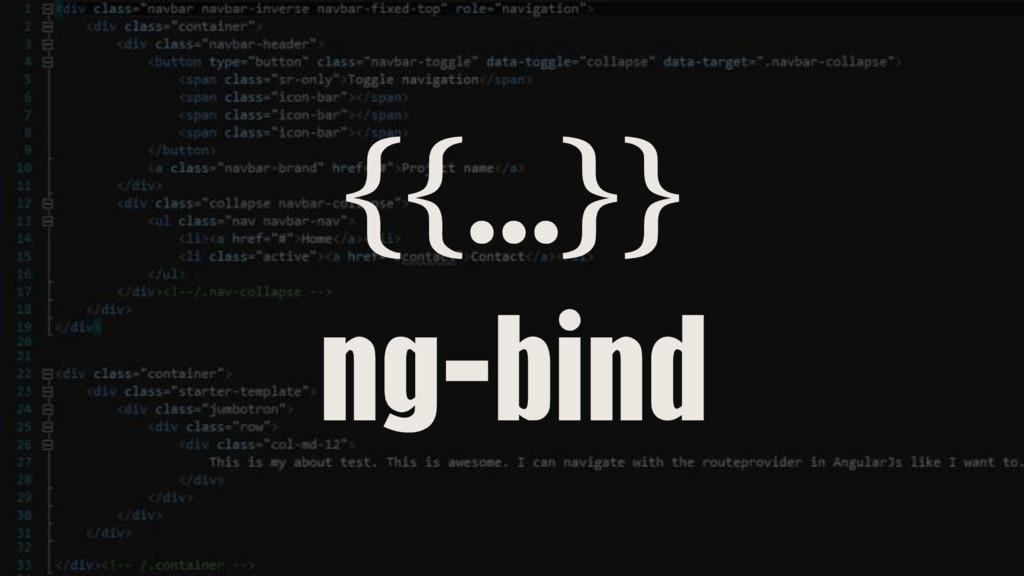 {{…}} ng-bind