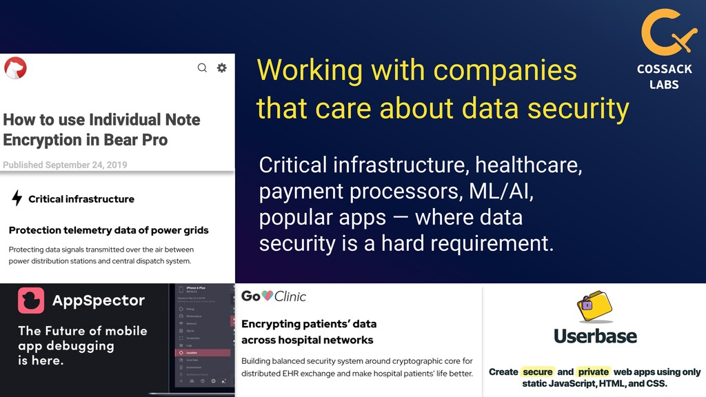 database searchable encryption cossacklabs.com/...