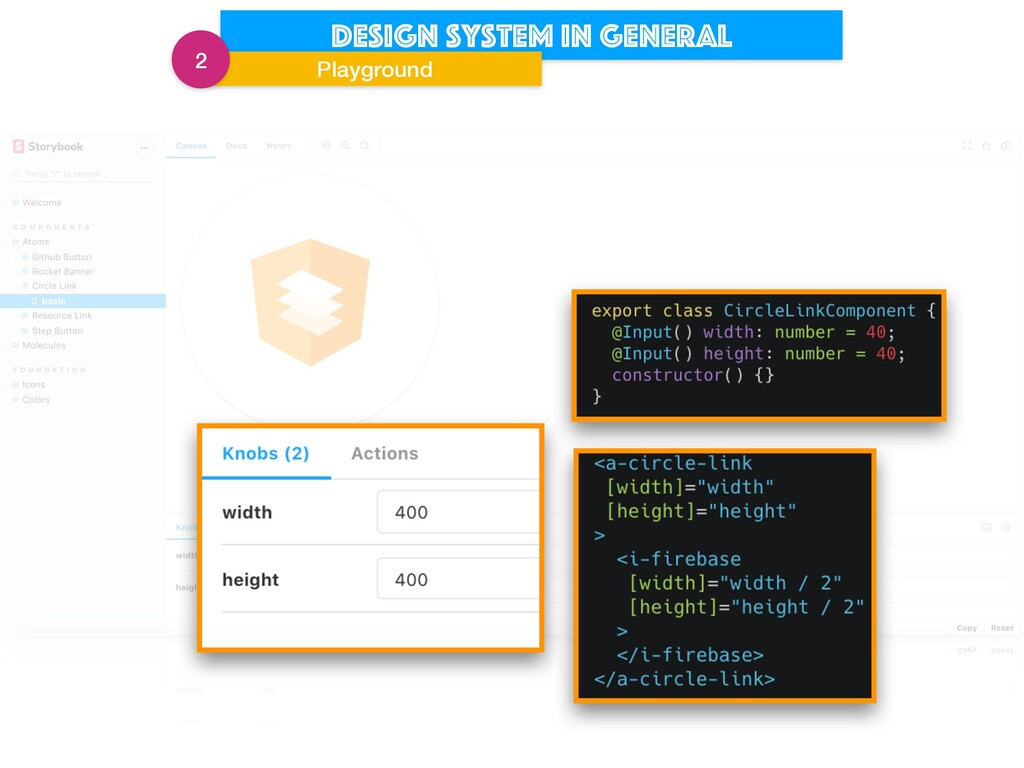 Design system in general Playground 2