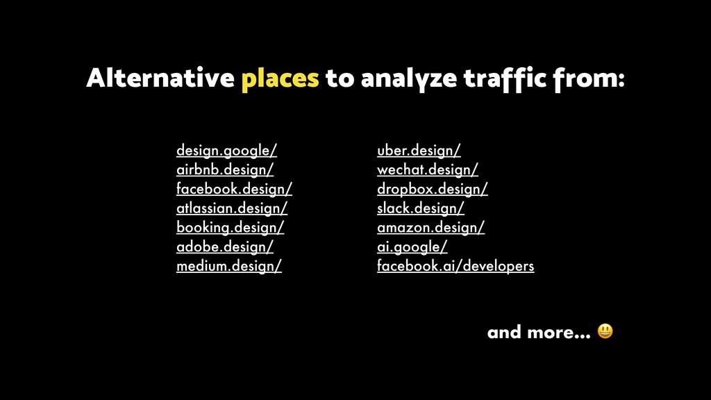 design.google/ airbnb.design/ facebook.design/ ...