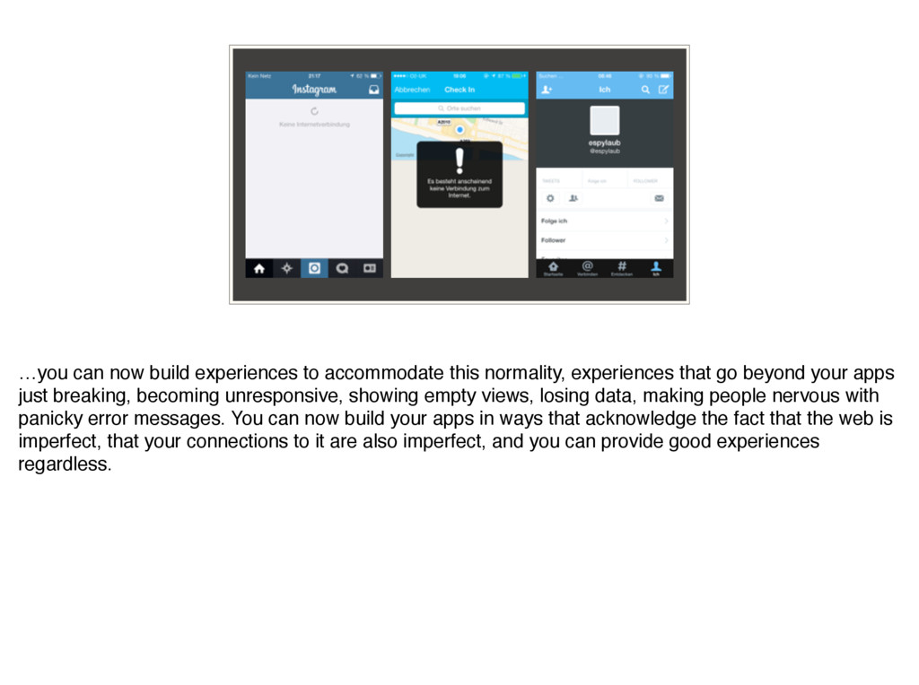 …you can now build experiences to accommodate t...