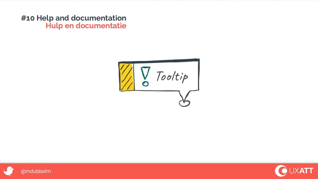 @mdubbelm #10 Help and documentation Hulp en do...