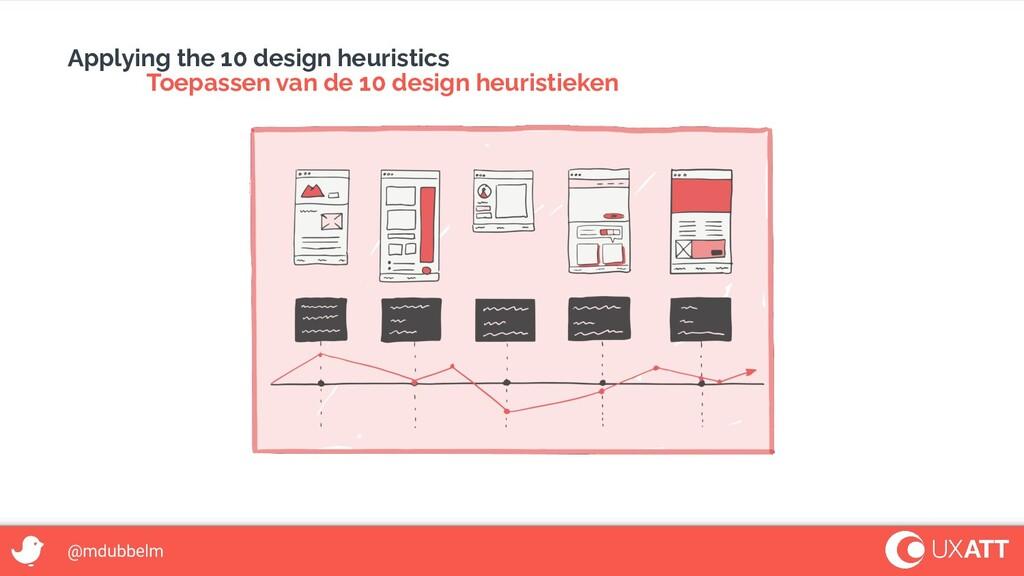 @mdubbelm Applying the 10 design heuristics Toe...