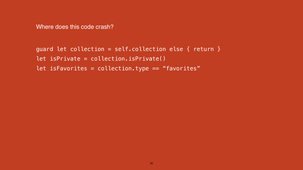 guard let collection = self.collection else { r...