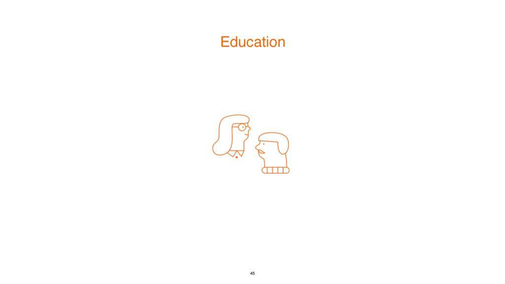 Education 45