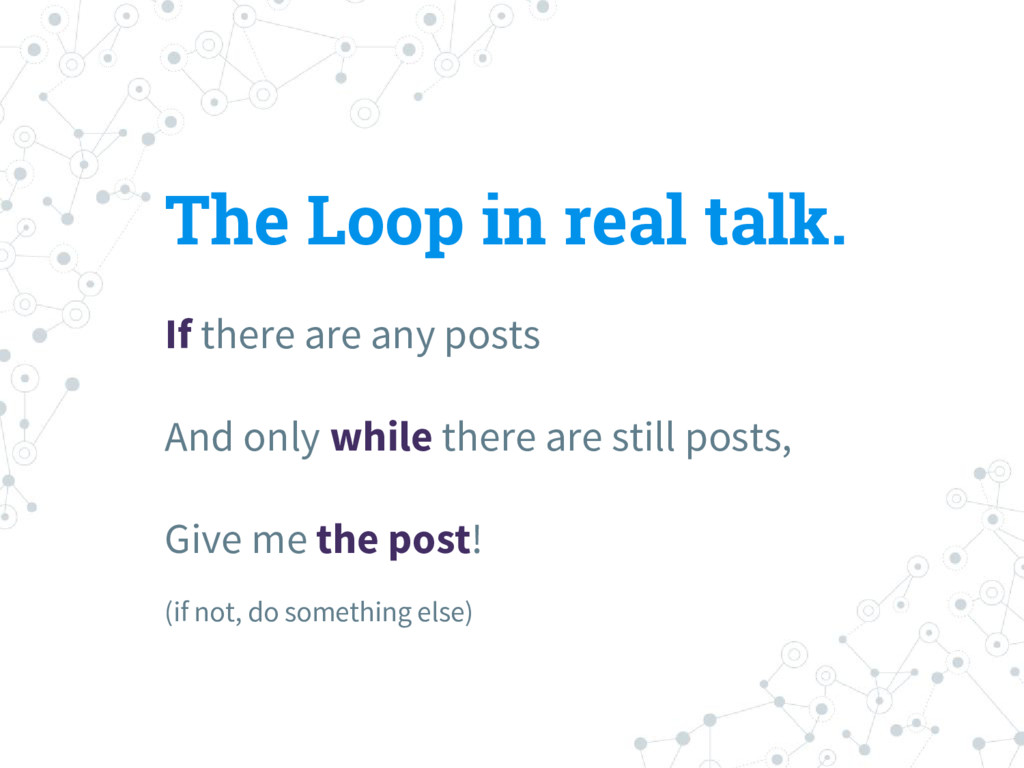 The Loop in real talk. If there are any posts A...