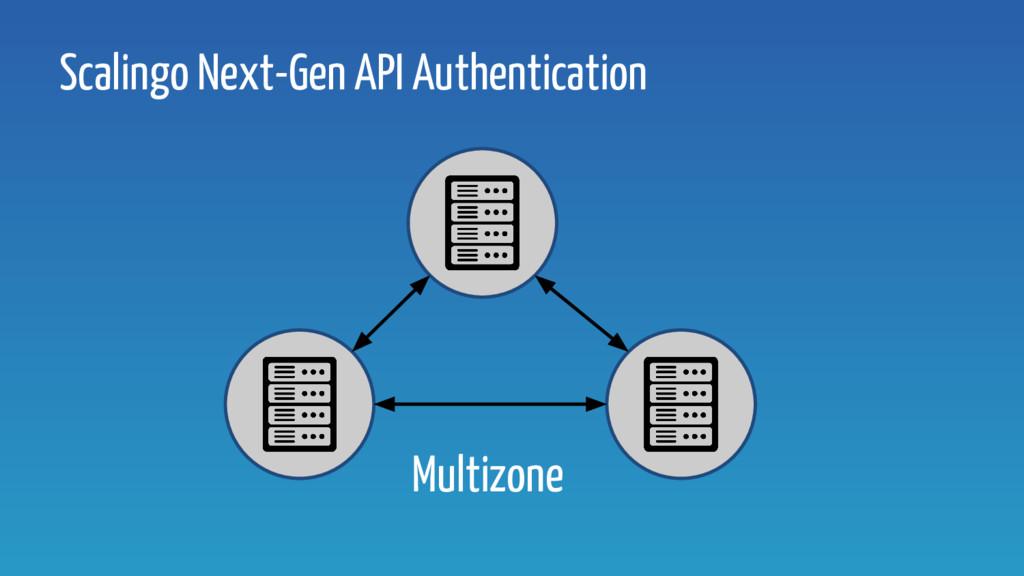 Scalingo Next-Gen API Authentication Multizone