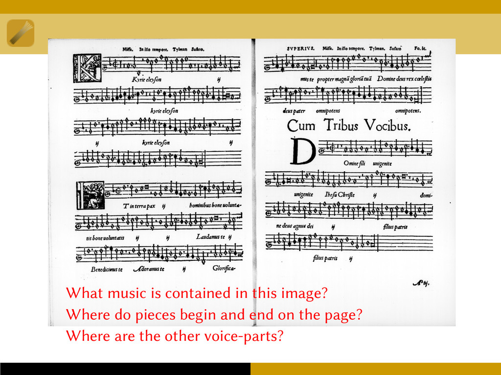 What music is contained in this image? Where do...