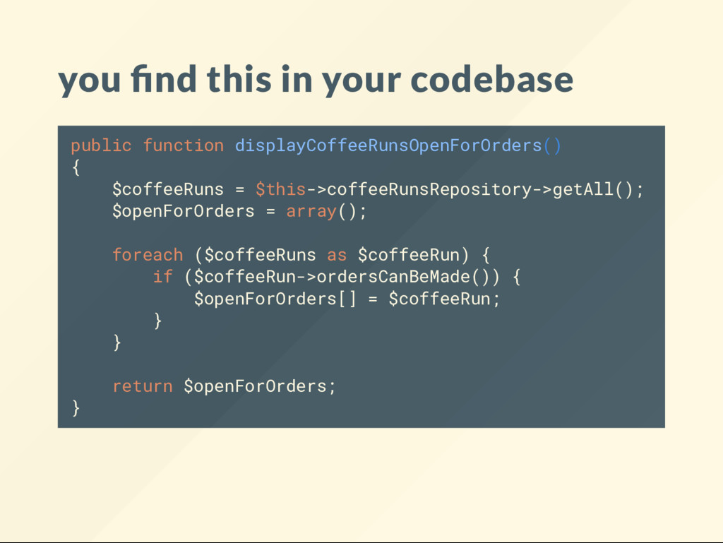 you nd this in your codebase public function di...