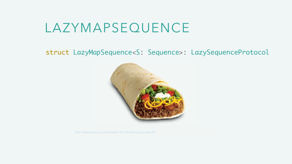 LAZYMAPSEQUENCE struct LazyMapSequence<S: Seque...