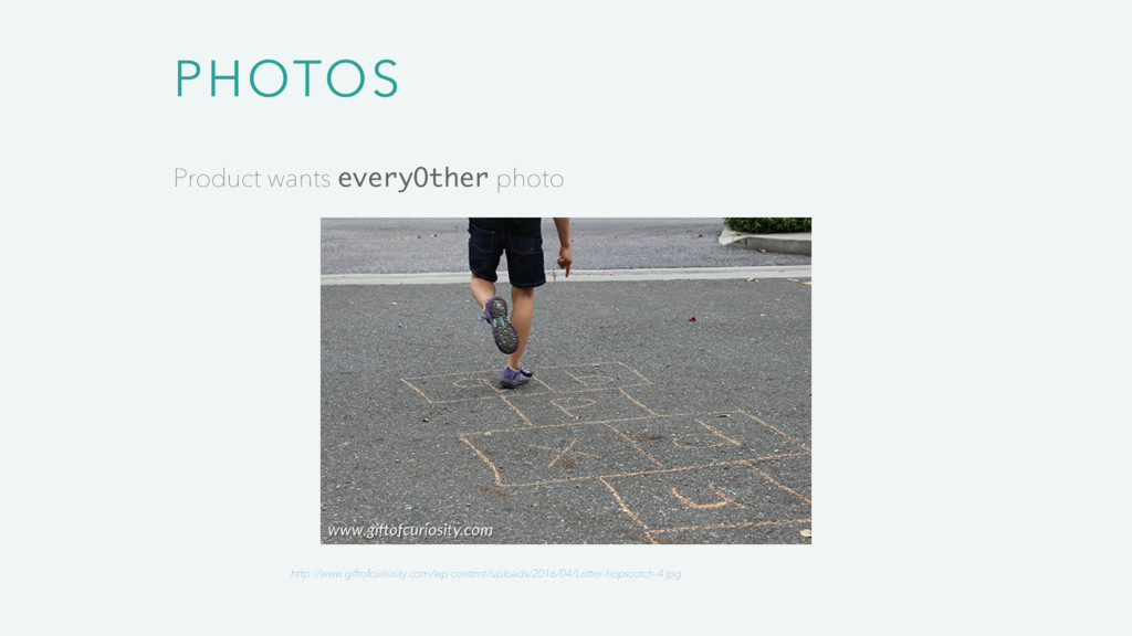 PHOTOS Product wants everyOther photo http://ww...