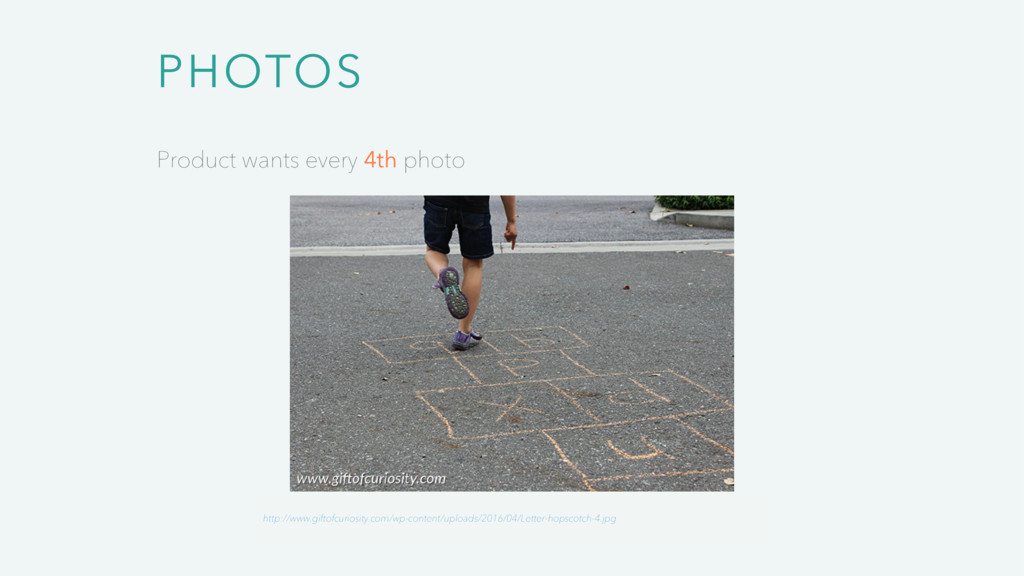 PHOTOS Product wants every 4th photo http://www...