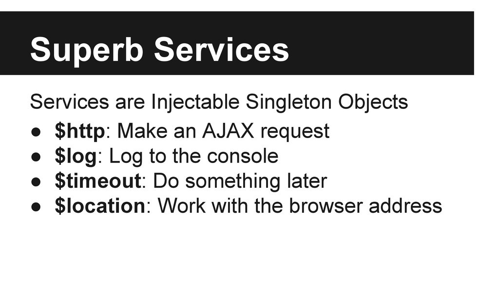 Superb Services Services are Injectable Singlet...