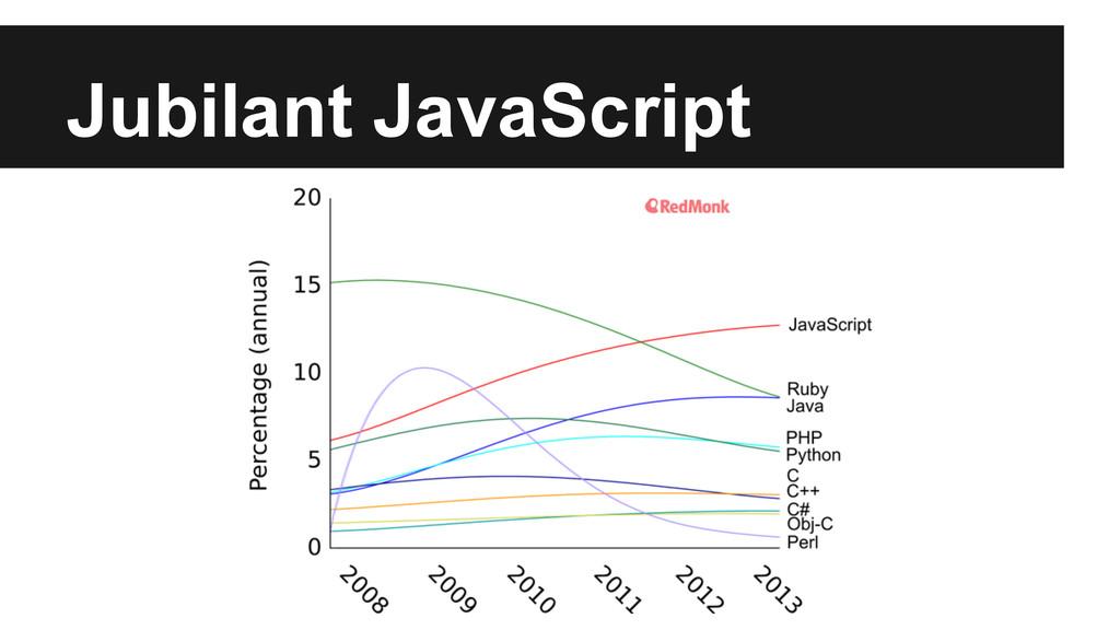 Jubilant JavaScript