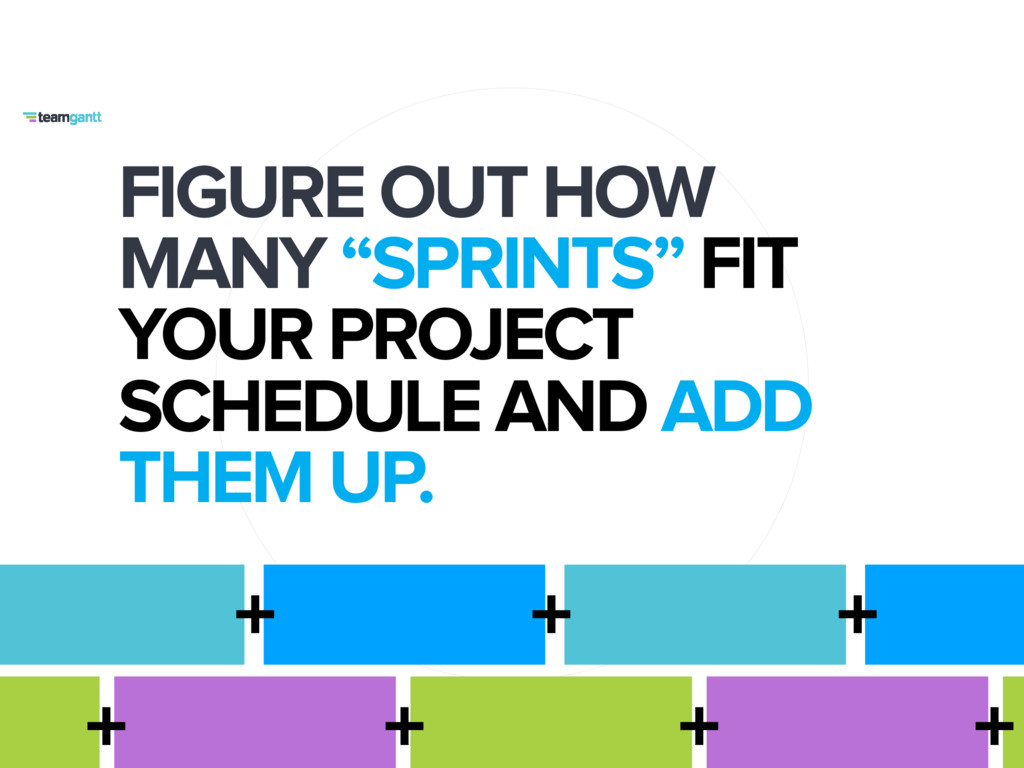 """FIGURE OUT HOW MANY """"SPRINTS"""" FIT YOUR PROJECT ..."""