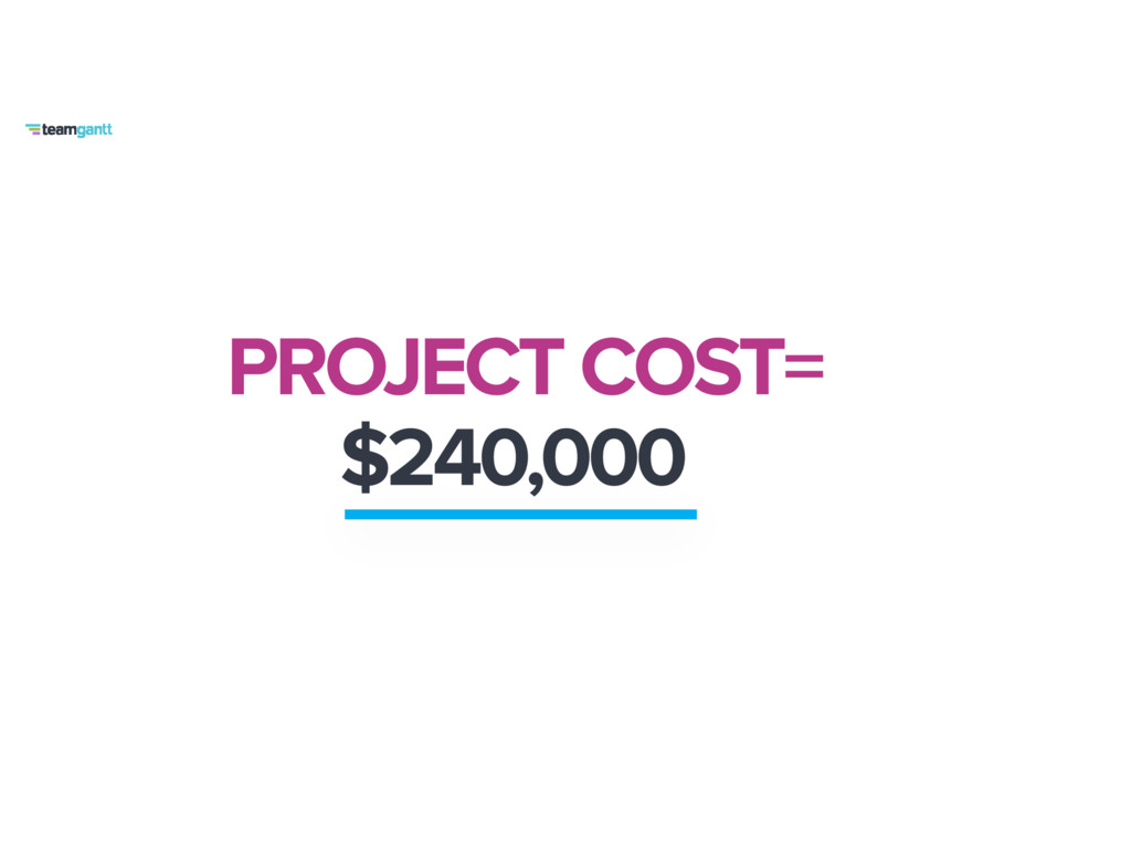 PROJECT COST= $240,000