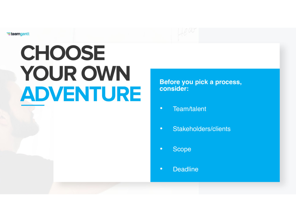 CHOOSE YOUR OWN ADVENTURE Before you pick a p...