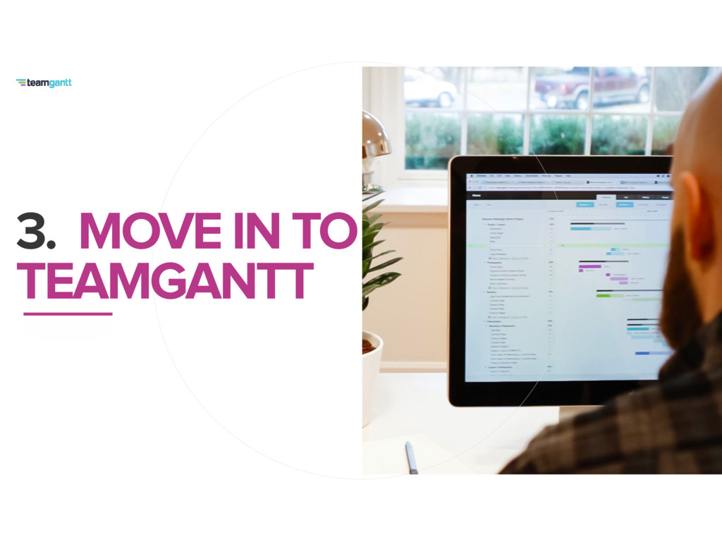3. MOVE IN TO TEAMGANTT