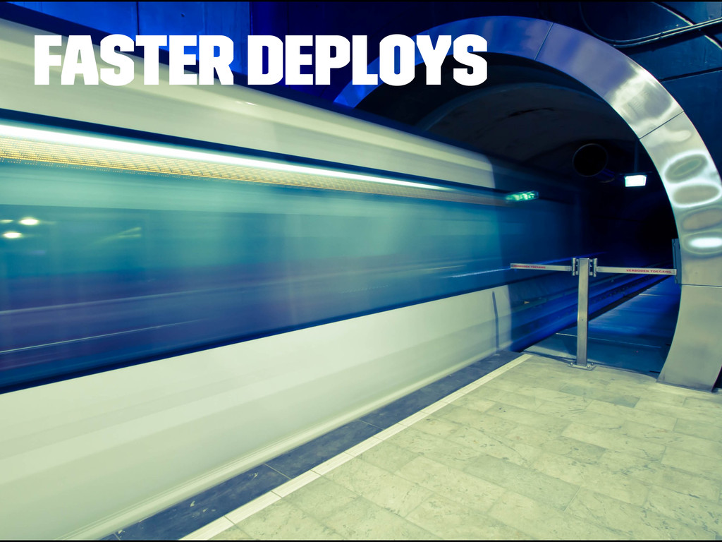 Faster Deploys