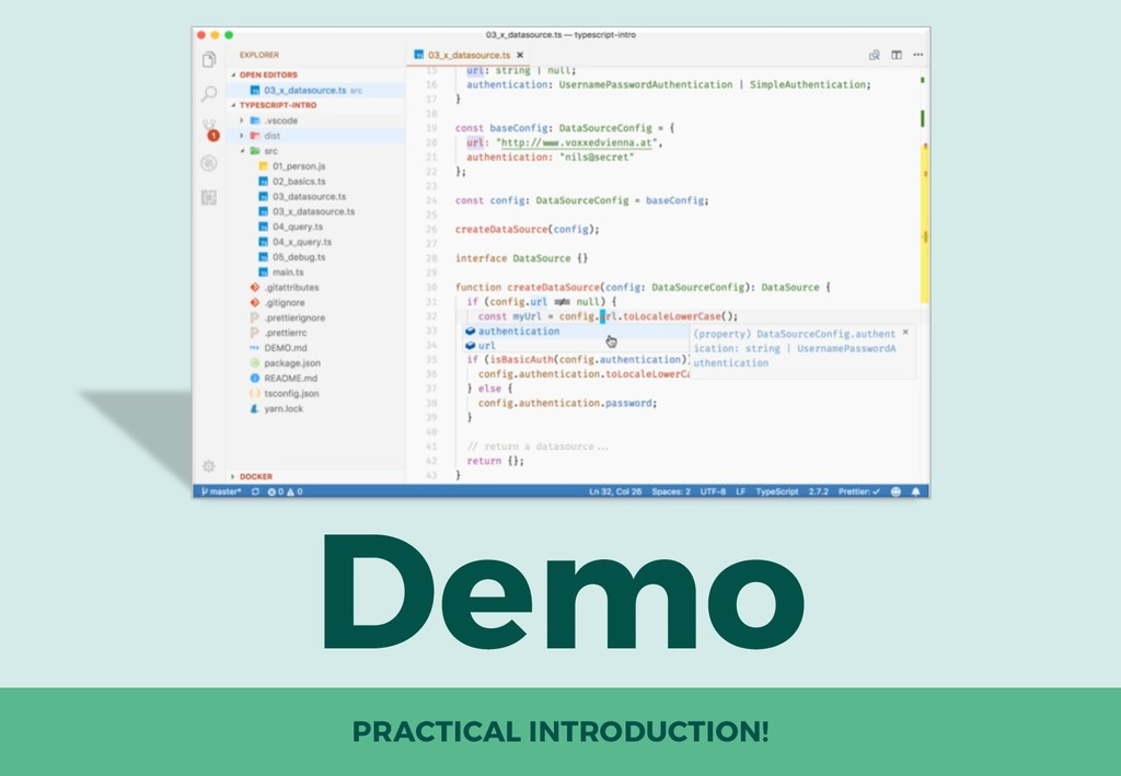 Demo PRACTICAL INTRODUCTION!