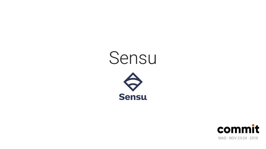MAD · NOV 23-24 · 2018 Sensu