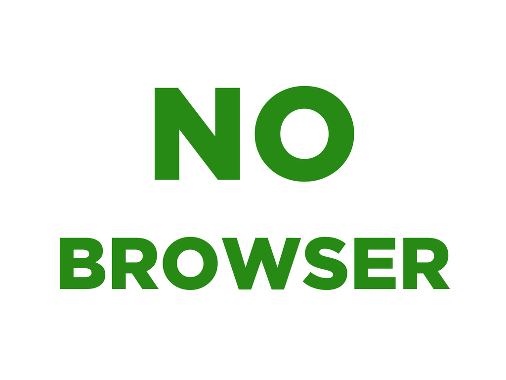 BROWSER NO