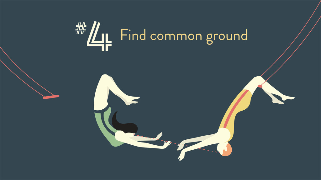 4Find common ground #