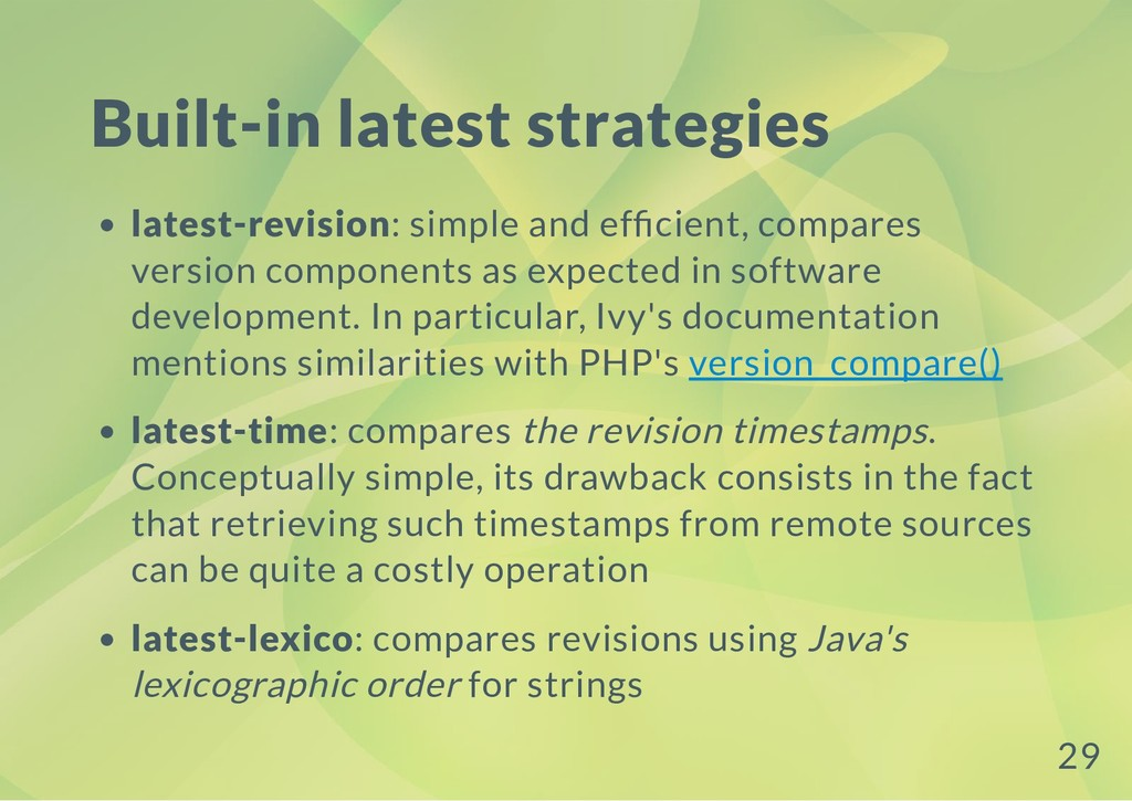 Built-in latest strategies latest-revision: sim...