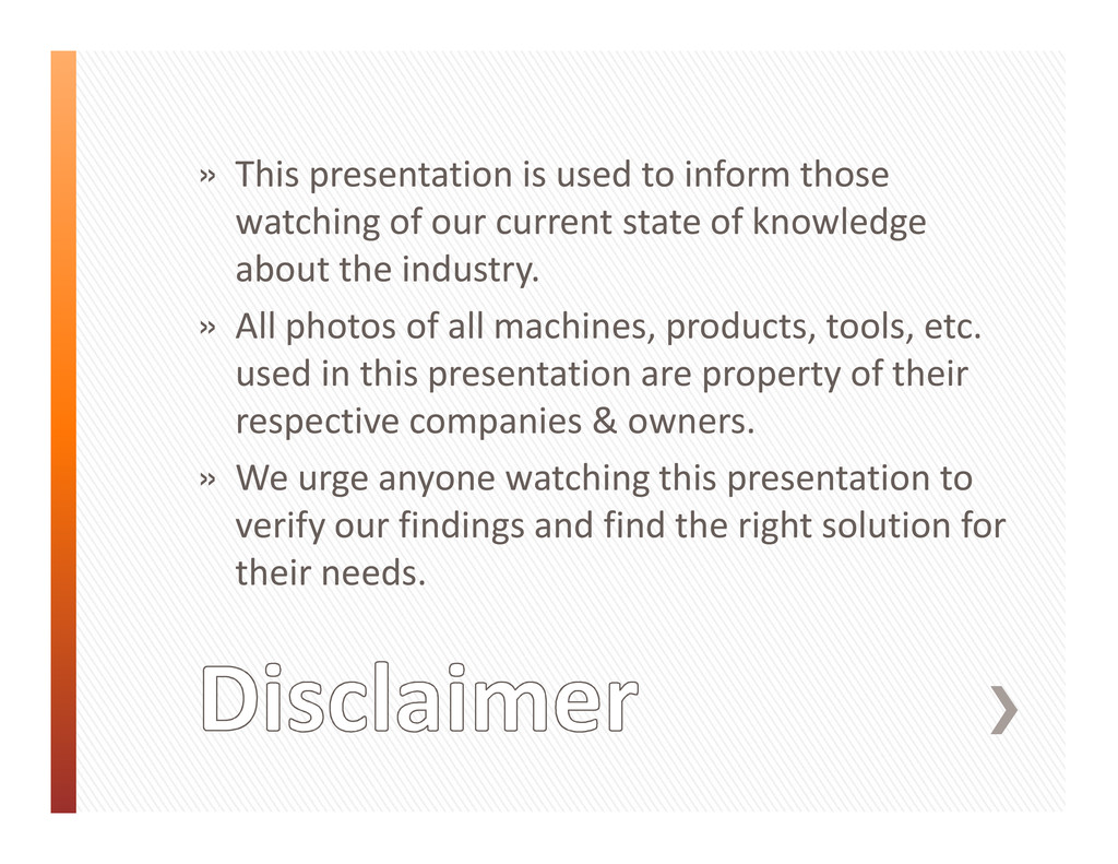 » This presentation is used to inform those wat...