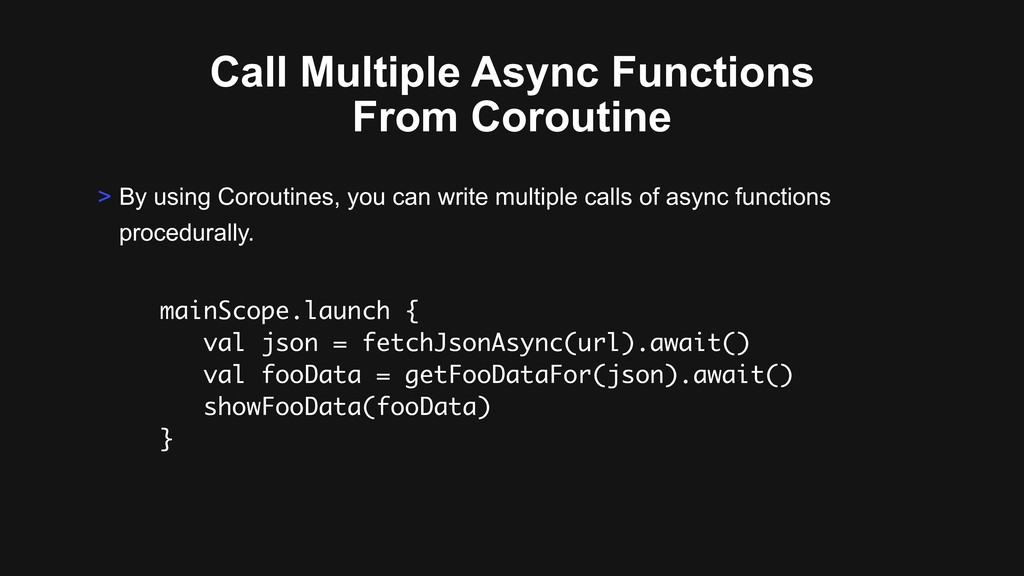 Call Multiple Async Functions From Coroutine ma...