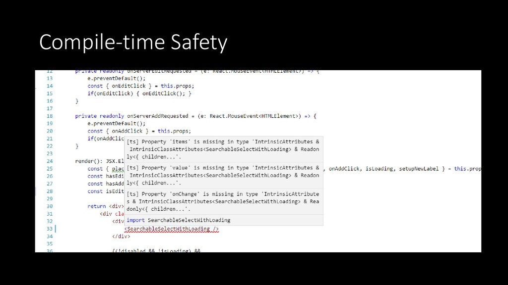 Compile-time Safety