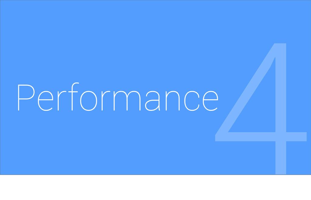 Performance 4