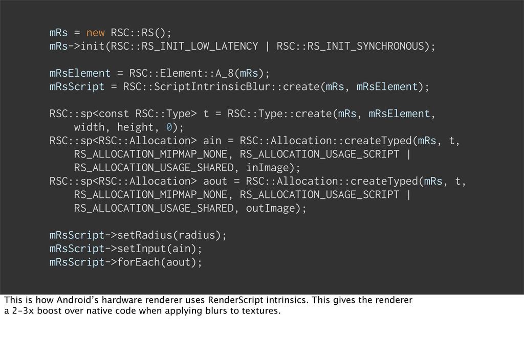 mRs = new RSC::RS(); mRs->init(RSC::RS_INIT_LOW...