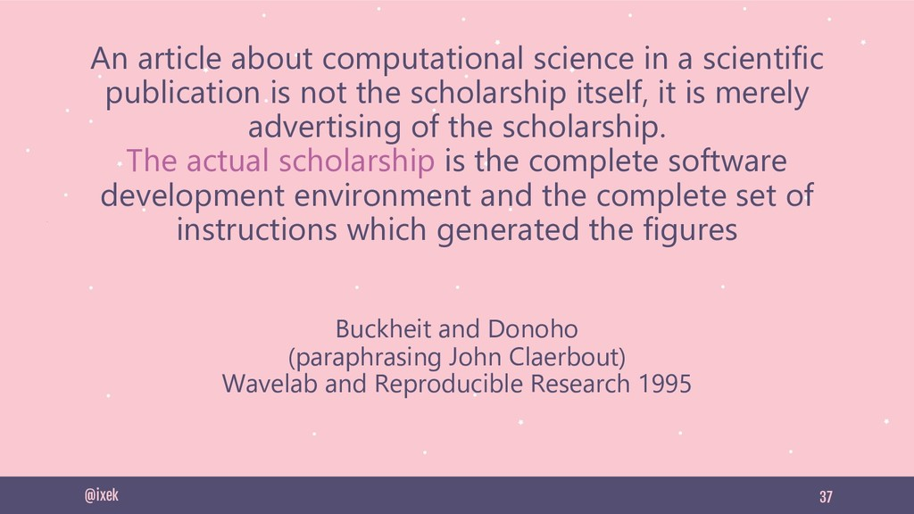 37 An article about computational science in a ...
