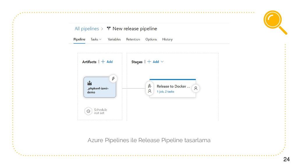 24 Azure Pipelines ile Release Pipeline tasarla...