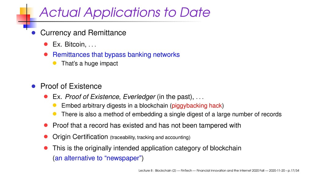Actual Applications to Date Currency and Remitt...
