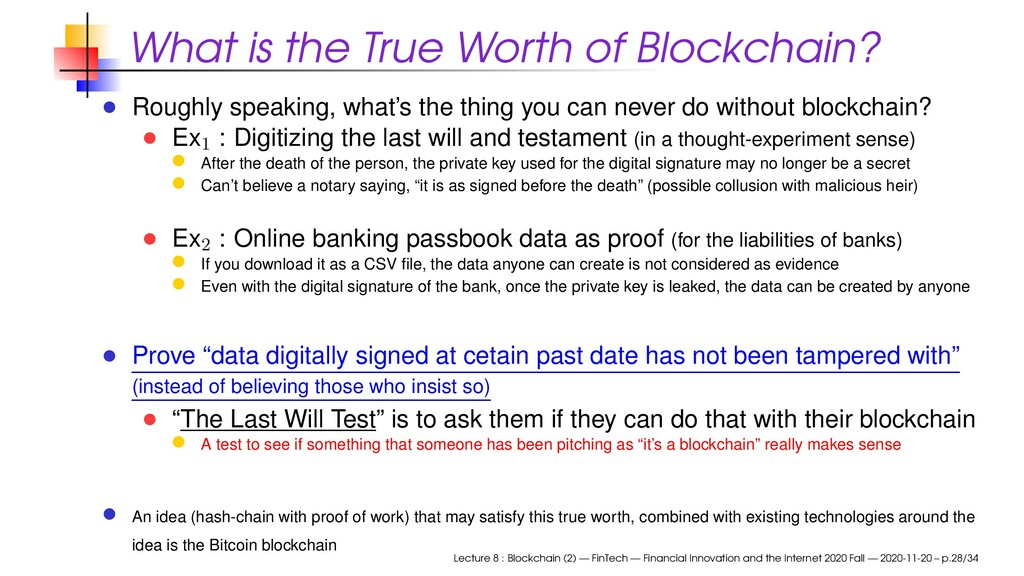 What is the True Worth of Blockchain? Roughly s...
