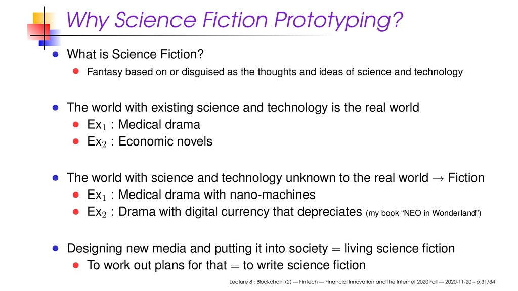 Why Science Fiction Prototyping? What is Scienc...