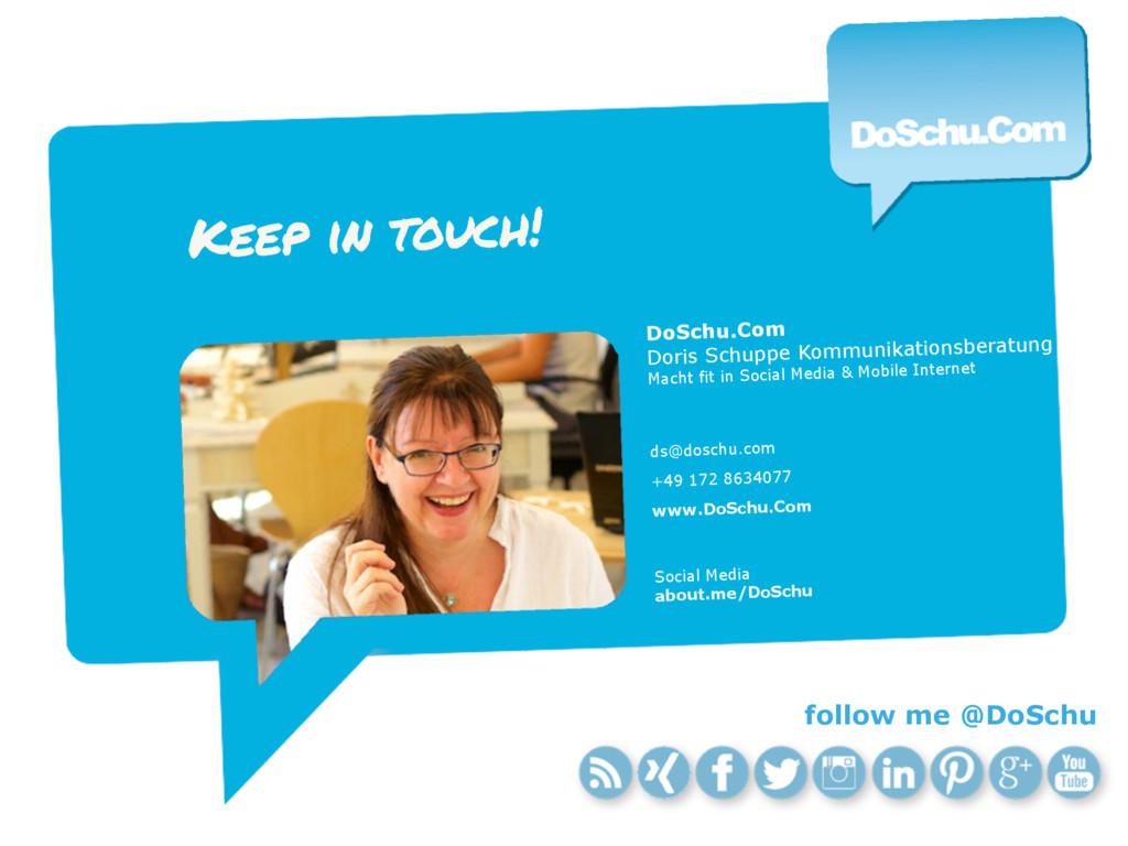 DoSchu.Com Doris Schuppe Kommunikationsberatung...