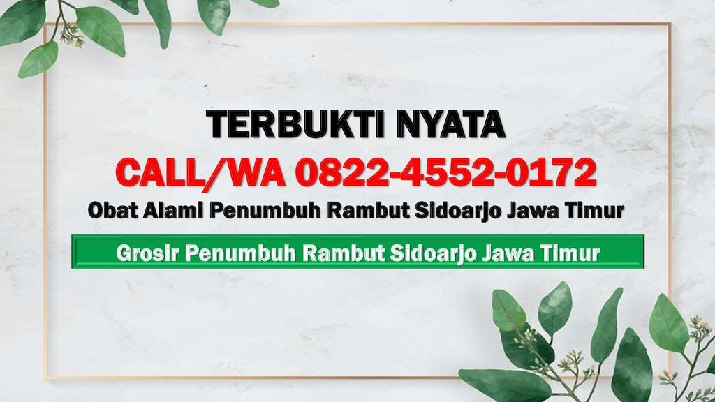 Grosir Penumbuh Rambut Sidoarjo Jawa Timur TERB...