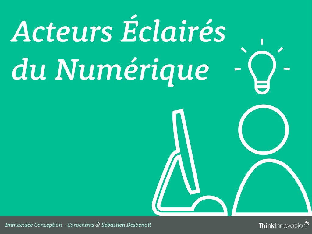 Acteurs Éclairés du Numérique Immaculée Concept...