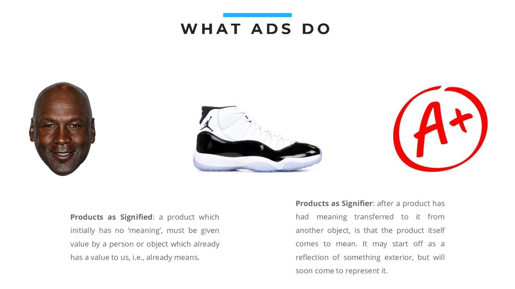 Products as Signified: a product which initiall...