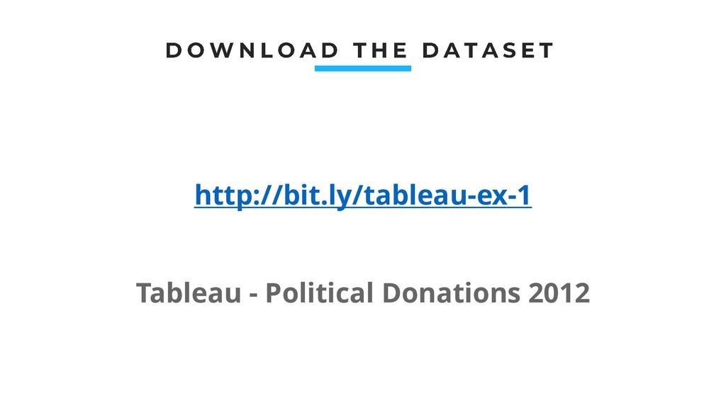 http://bit.ly/tableau-ex-1 Tableau - Political ...